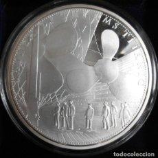 Medallas temáticas: GRAN MONEDA DE 70 MM CONMEMORATIVA A LOS 100 AÑOS DEL HUNDIMIENTO DEL TITANIC EDICION MUY LIMITADA. Lote 180080906