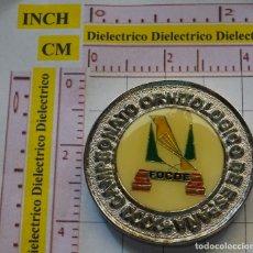 Medallas temáticas: MEDALLA MEDALLÓN MONEDA. CAMPEONATO ORNITOLÓGICO DE ESPAÑA ALICANTE 1995. AVES PÁJAROS. 30 GR. Lote 161171806