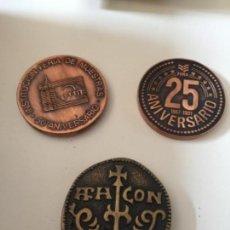 Medallas temáticas: LOTE MEDALLAS ZARAGOZA. Lote 161260154