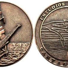 Medallas temáticas: *** GRAN MEDALLA 1985 ESTUDIOS DEL MAR, CARTAGENA. PLANTA PETROLIFERA ***. Lote 161568478
