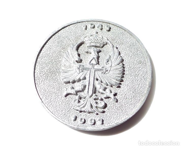 Medallas temáticas: MEDALLA INSTITUTO POLITECNICO Nº1 - 50 ANIVERSARIO 1943 - 1993 - 7,5 CM DE DIÁMETRO - Foto 2 - 162072202