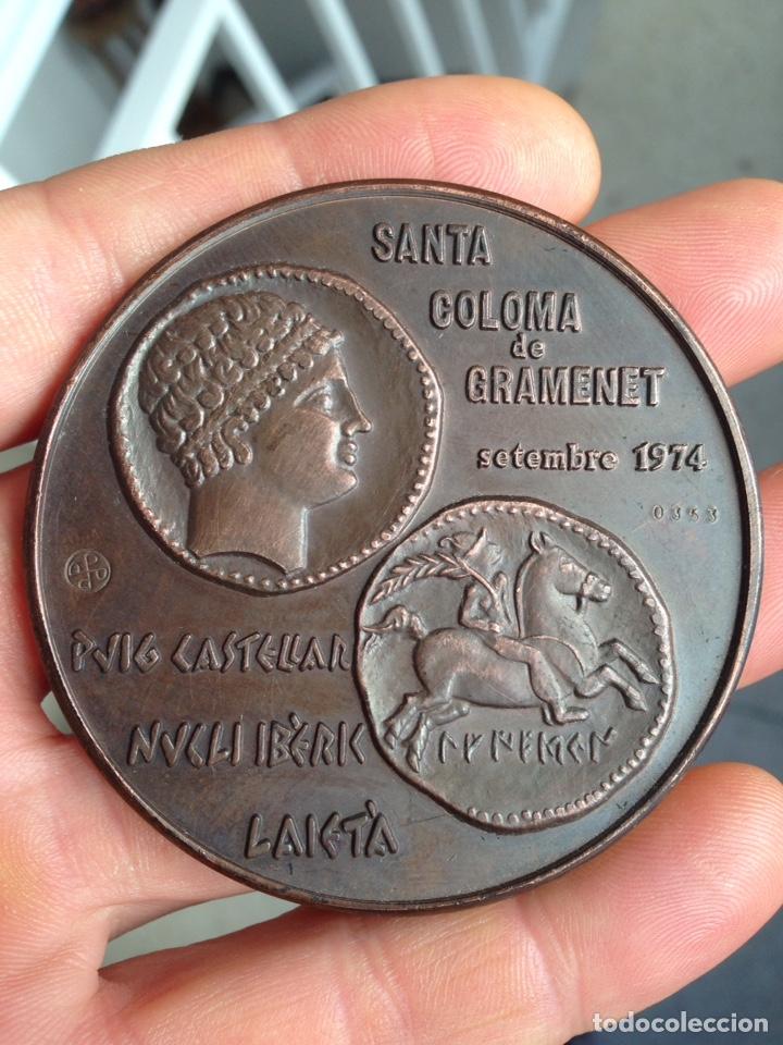 MEDALLA BANCO SABADELL 1974 (Numismática - Medallería - Temática)