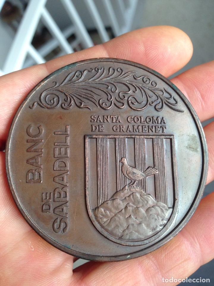 Medallas temáticas: Medalla Banco Sabadell 1974 - Foto 4 - 162132389