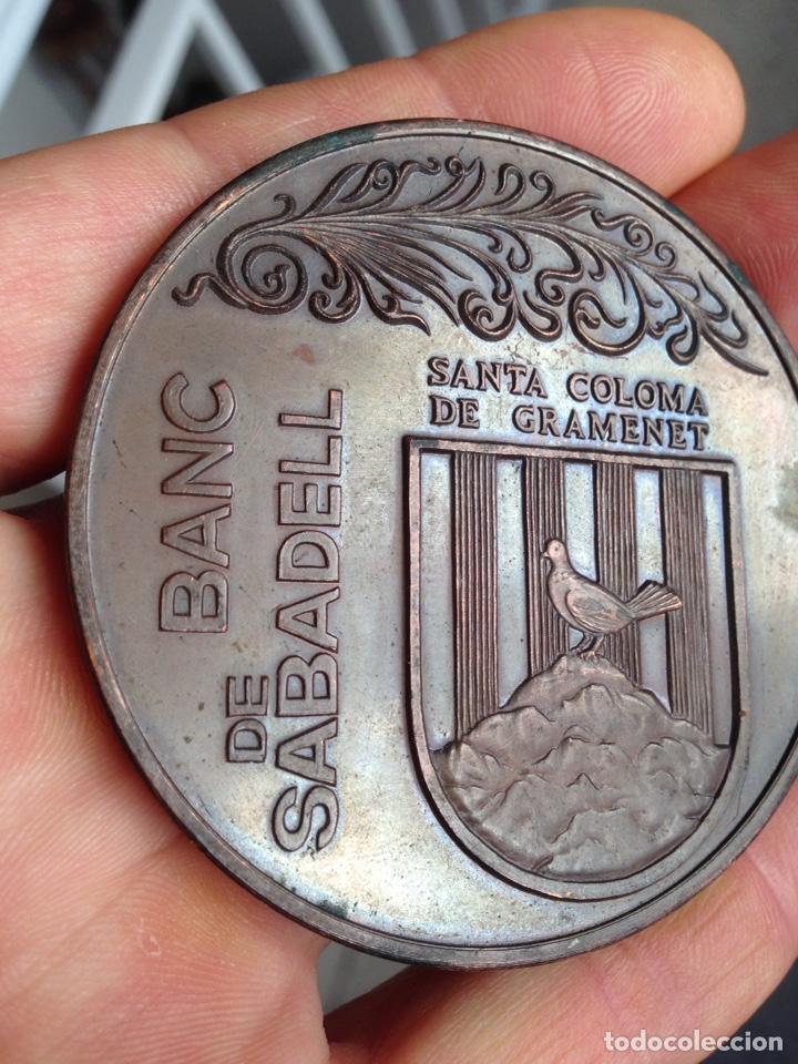 Medallas temáticas: Medalla Banco Sabadell 1974 - Foto 5 - 162132389