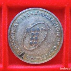 Medallas temáticas: MEDALLA CONMEMORATIVA TELEFÓNICA, AMPLIACIÓN CAPITAL, 1998, NÍQUEL-PLATA. Lote 162423254