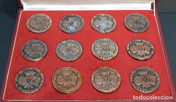 Medallas temáticas: LOTE DE 24 MEDALLAS Y DOS MONETARIOS PERSONAJES ILUSTRES DE CATALUÑA. - Foto 6 - 163489210