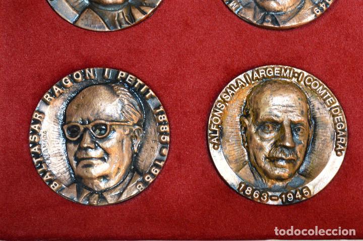 Medallas temáticas: LOTE DE 24 MEDALLAS Y DOS MONETARIOS PERSONAJES ILUSTRES DE CATALUÑA. - Foto 8 - 163489210