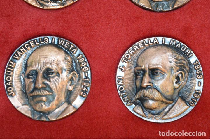 Medallas temáticas: LOTE DE 24 MEDALLAS Y DOS MONETARIOS PERSONAJES ILUSTRES DE CATALUÑA. - Foto 9 - 163489210