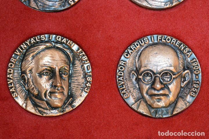 Medallas temáticas: LOTE DE 24 MEDALLAS Y DOS MONETARIOS PERSONAJES ILUSTRES DE CATALUÑA. - Foto 10 - 163489210