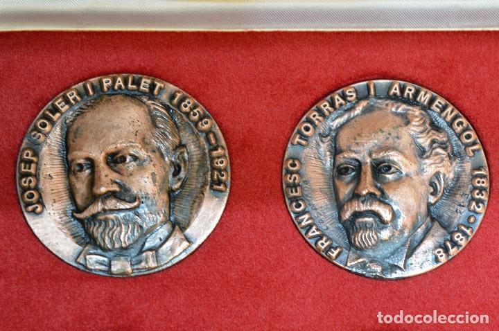 Medallas temáticas: LOTE DE 24 MEDALLAS Y DOS MONETARIOS PERSONAJES ILUSTRES DE CATALUÑA. - Foto 12 - 163489210