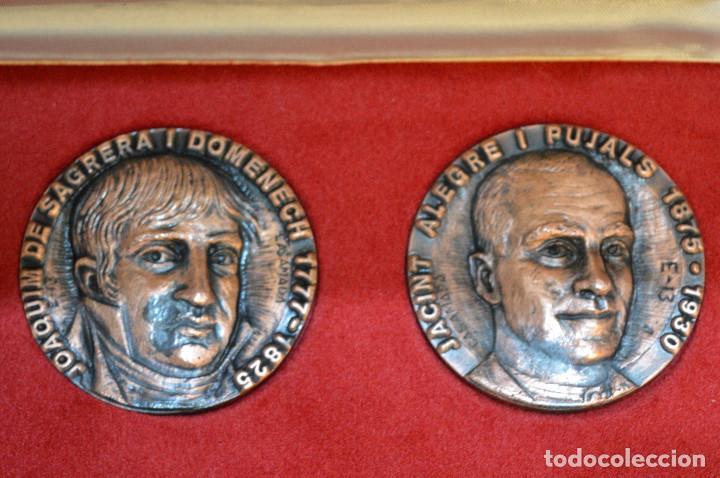 Medallas temáticas: LOTE DE 24 MEDALLAS Y DOS MONETARIOS PERSONAJES ILUSTRES DE CATALUÑA. - Foto 13 - 163489210