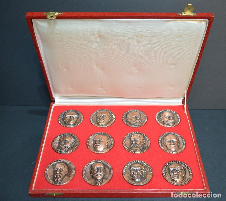 Medallas temáticas: LOTE DE 24 MEDALLAS Y DOS MONETARIOS PERSONAJES ILUSTRES DE CATALUÑA. - Foto 14 - 163489210