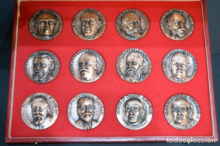 Medallas temáticas: LOTE DE 24 MEDALLAS Y DOS MONETARIOS PERSONAJES ILUSTRES DE CATALUÑA. - Foto 15 - 163489210