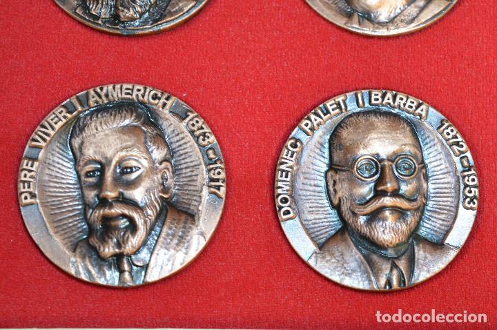 Medallas temáticas: LOTE DE 24 MEDALLAS Y DOS MONETARIOS PERSONAJES ILUSTRES DE CATALUÑA. - Foto 18 - 163489210