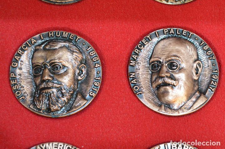 Medallas temáticas: LOTE DE 24 MEDALLAS Y DOS MONETARIOS PERSONAJES ILUSTRES DE CATALUÑA. - Foto 19 - 163489210