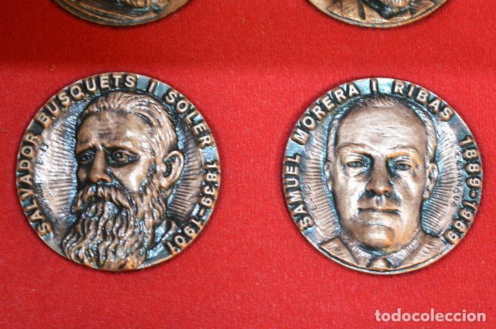 Medallas temáticas: LOTE DE 24 MEDALLAS Y DOS MONETARIOS PERSONAJES ILUSTRES DE CATALUÑA. - Foto 20 - 163489210
