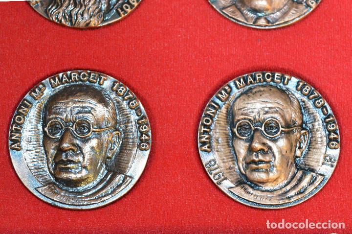 Medallas temáticas: LOTE DE 24 MEDALLAS Y DOS MONETARIOS PERSONAJES ILUSTRES DE CATALUÑA. - Foto 21 - 163489210