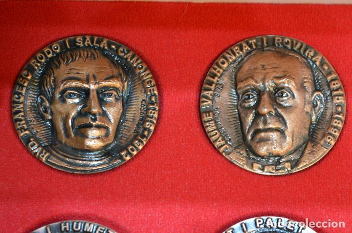 Medallas temáticas: LOTE DE 24 MEDALLAS Y DOS MONETARIOS PERSONAJES ILUSTRES DE CATALUÑA. - Foto 22 - 163489210