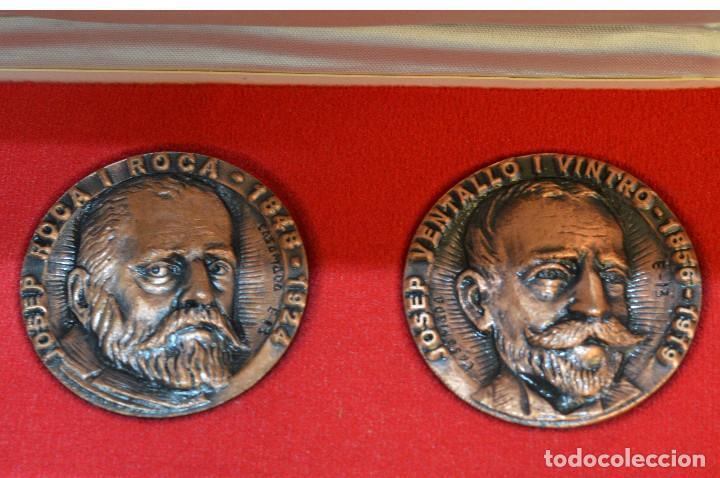 Medallas temáticas: LOTE DE 24 MEDALLAS Y DOS MONETARIOS PERSONAJES ILUSTRES DE CATALUÑA. - Foto 23 - 163489210