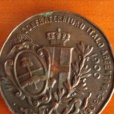 Medallas temáticas: MEDALLA (MONEDA) CONMEMORATIVA ITALO-ARGENTINA DE 1900. Lote 163892034