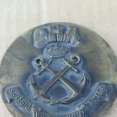 Medallas temáticas: MEDALLON, COLEGIO DE HUÉRFANOS DE LA ARMADA. Lote 163979301