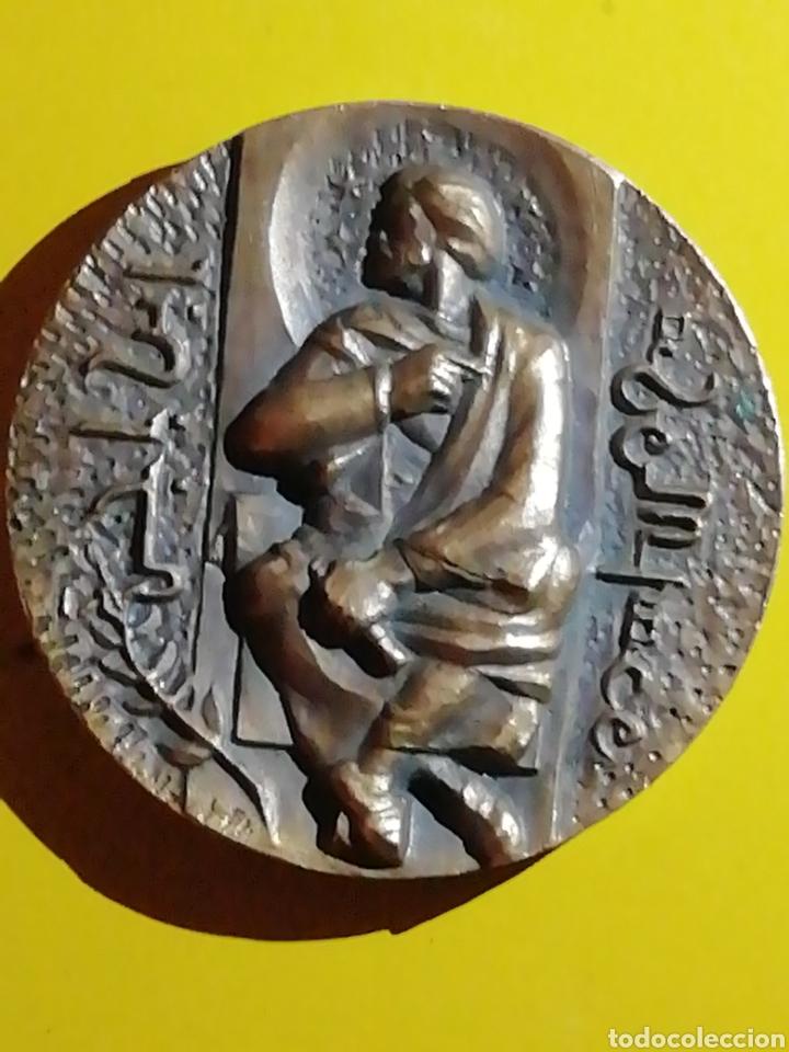 FNMT CARACTERES EN ÁRABE BUENA CONSERVACIÓN BRONCE (Numismática - Medallería - Temática)