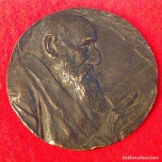 Medallas temáticas: MEDALLA DE MARIANO BENLLIURE DEDICADA A D. FCO. RGUEZ. MARÍN, DIRECTOR DE LA REAL ACAD. ESPAÑOLA,. Lote 164725498