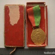 Medallas temáticas: MEDALLA FRANCESA CHAPADA EN ORO. Lote 164779514