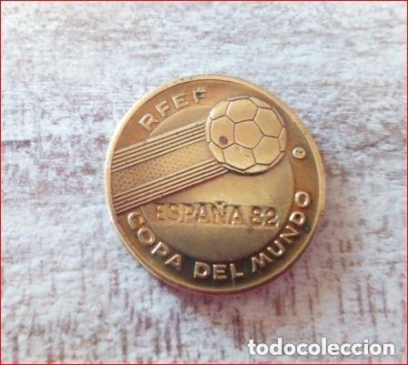 ESPAÑA 82 COPA DEL MUNDO R.F.E.F -ALEMANIA CAMPEÓN DEL MUNDO 1954,1974 Y SUB.1982 - (COBRE) (Numismática - Medallería - Temática)