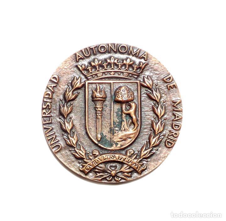MEDALLA UNIVERSIDAD AUTONOMA DE MADRID (Numismática - Medallería - Temática)