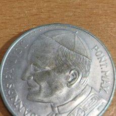 Medallas temáticas: MEDALLA PLATA JUAN PABLO II. Lote 166389528