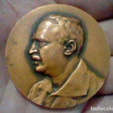 Medallas temáticas: BLASCO IBAÑEZ VALENCIA 1981 SIMPOSIUM INTERNACIONAL MEDALLA MANO TONO COBRE ORIGINAL. Lote 166681958
