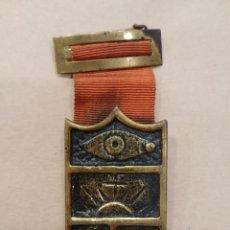 Medallas temáticas: MEDALLA MASONICA. Lote 166873253