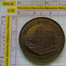 Medallas temáticas: MEDALLA MEDALLÓN DE BRONCE. INAUGURACIÓN DEL HOTEL ESTORIL SOL, PORTUGAL. AÑO 1965. 80 GR. Lote 167136416