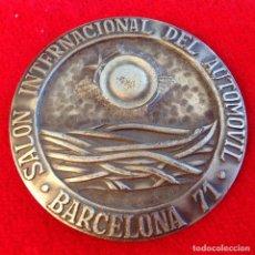 Medallas temáticas: MEDALLA SALÓN INTERNACIONAL DEL AUTOMÓVIL, BARCELONA 1971, DE PUJOL, 50 MM. EN SU ESTUCHE ORIGINAL.. Lote 167831816
