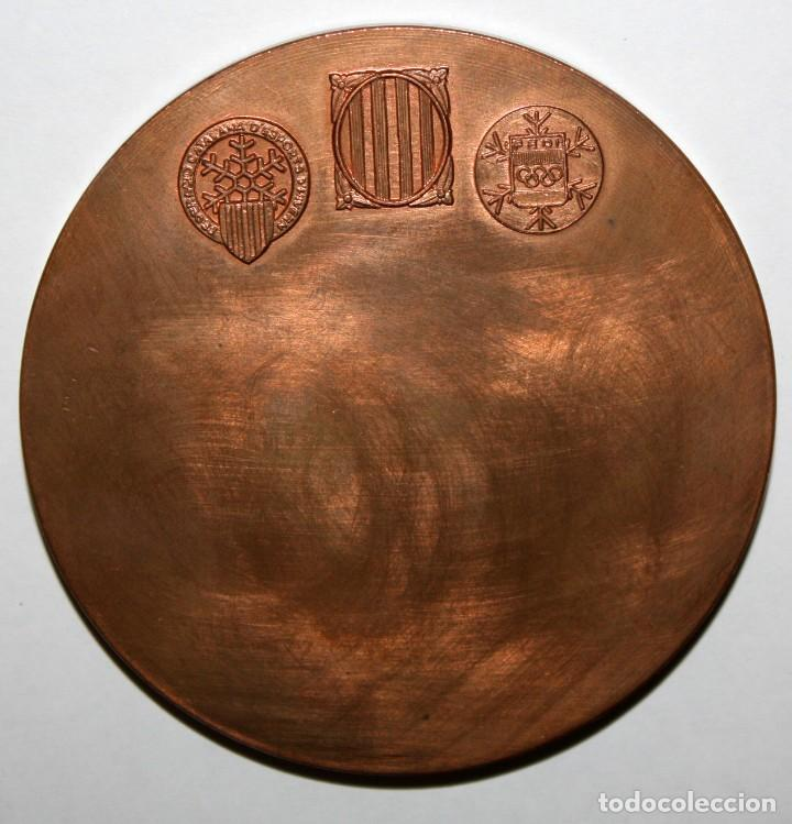 Medallas temáticas: MEDALLA DEL 75 ANIVERSARI DE L' ESQUI A CATALUNYA (1908 - 1983) - Foto 2 - 168454460
