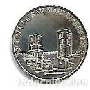 Medallas temáticas: MONEDA DE PLATA 925/000 MONUMENTOS DE AVILA IGLESIA DE SAN MARTIN DE AREVALO. Lote 168720736