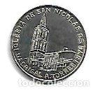 Medallas temáticas: MONEDA DE PLATA 925/000 MONUMENTOS DE AVILA IGLESIA DE SAN NICOLAS DE BARI DE MADRIGAL A. TORRES. Lote 168724292