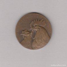 Medallas temáticas: MEDALLA DE LA SOCIETÉ INTERNACIONALE D´AVICULTURE DE FRANCE. BRONCE.DIÁMETRO: 37 MM.. Lote 168730364