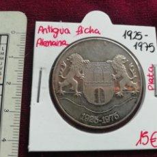 Medallas temáticas: ALEMANIA. MEDALLA DE PLATA. 1975. VOLKSFÜRSORGE. Lote 170377564