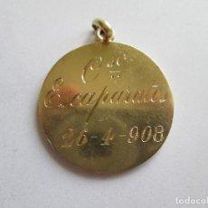 Medallas temáticas: JEREZ DE LA FRONTERA * MEDALLA PREMIO CONCURSO DE ESCAPARATES 1908 * PLATA. Lote 170561440