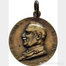 Medallas temáticas: MEDALLA BRONCE PRIMO DE RIVERA DICTADURA DE PLEBISCITO 7506468 FIRMAS.1926.RESURGIMIENTO DE ESPAÑA. Lote 170569744