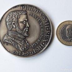 Médailles thématiques: MEDALLA COBRE PLATEADO IV CONVENCION NUMISMATICA MADRID FEBRERO 1974. Lote 171182832