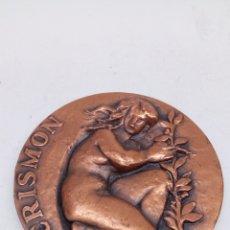 Medallas temáticas: MEDALLA DE BRONCE CRISMON. Lote 171491077