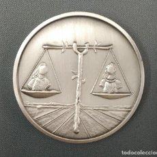 Medallas temáticas: MEDALLA DALI - PLATA PURA - 50 GR - HOROSCOPO LIBRA - ORIGINAL !!. Lote 171615770