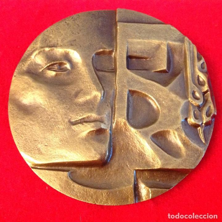 MEDALLA VIDA, 80 MM. FNMT 1983. NUEVA. (Numismática - Medallería - Temática)