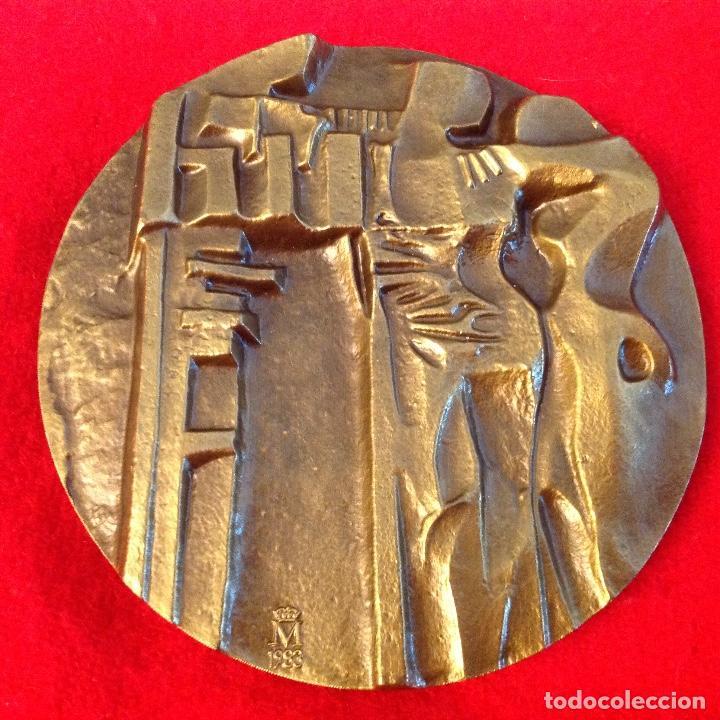 Medallas temáticas: Medalla Vida, 80 mm. FNMT 1983. Nueva. - Foto 2 - 172085699
