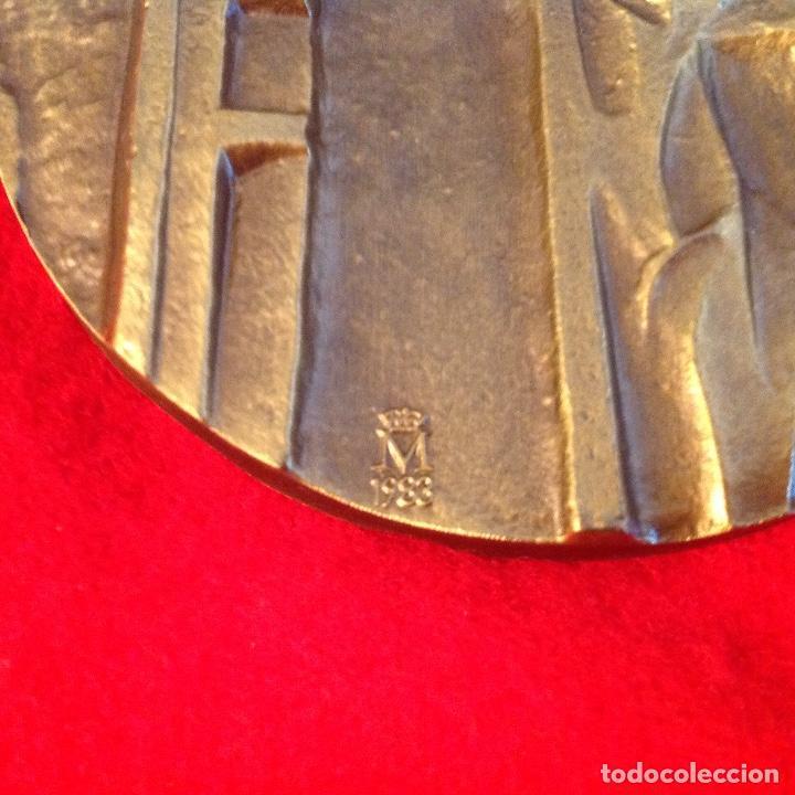 Medallas temáticas: Medalla Vida, 80 mm. FNMT 1983. Nueva. - Foto 3 - 172085699