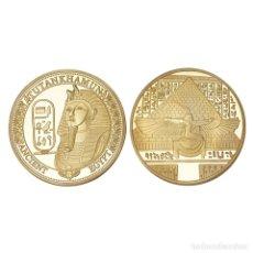 Medallas temáticas: EXCLUSIVA MONEDA DE ORO DEL FARAON TUTANKAMON - EDICION LIMITADA - . Lote 172163020
