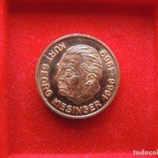 Medallas temáticas: FICHA - MEDALLA CONMEMORATIVA CANCILLER KURT GEORG KIESINGER, ALEMANIA, 1969¿?, ÁGUILA. Lote 171833193
